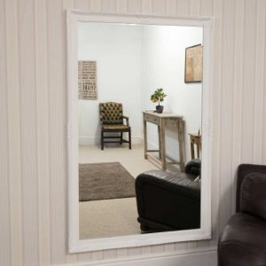 Kingston Large White Mirror 168x102cm