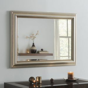 Lancaster Silver Framed Mirror (8 Sizes)