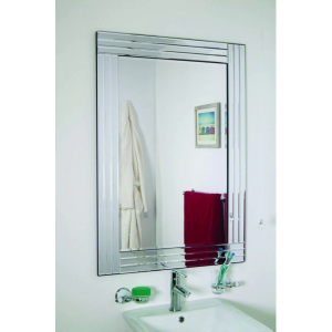Lapford Triple Glass Mirror 100x70cm