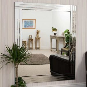 Lapford Triple Glass Mirror 116x144cm