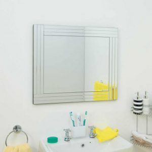 Lapford Triple Glass Mirror 68x58cm