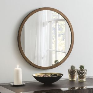 Manhattan Bronze Circle Mirror (7 Sizes)