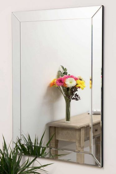 Newton Glass Mirror 110x78cm