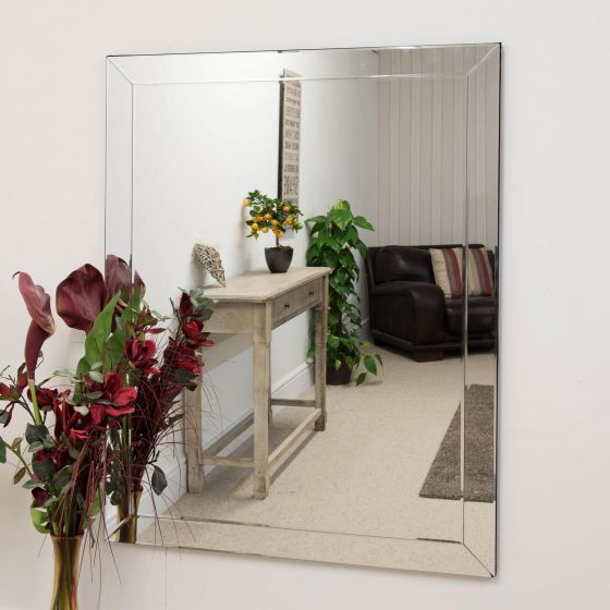 Newton Large Glass Mirror 137x108cm