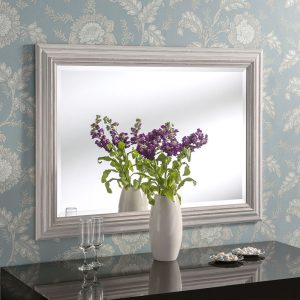 Padstow White Rectangular Mirror (7 Sizes)