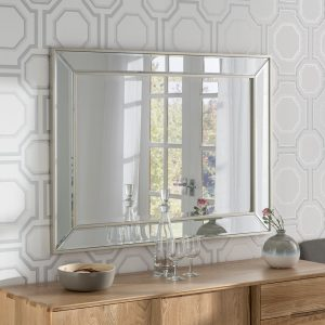 Regent Silver Bevelled Mirror (4 Sizes)