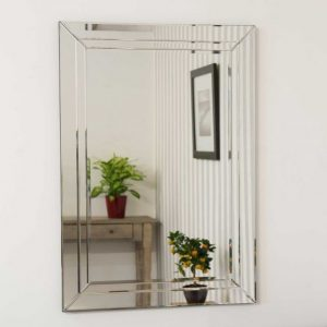 Roadford Double Glass Mirror 100x70cm