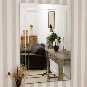 Roadford Double Glass Mirror 120x80cm