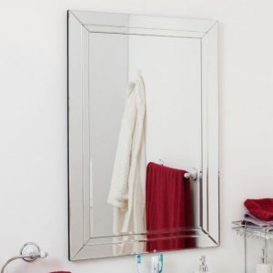 Roadford Double Glass Mirror 90x60cm