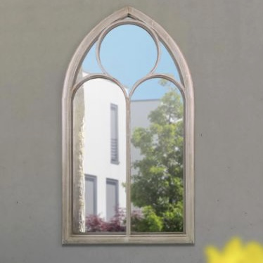 Rosebay Window Garden Mirror 112x61cm