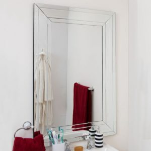 Silverton Triple Glass Mirror 120x80cm