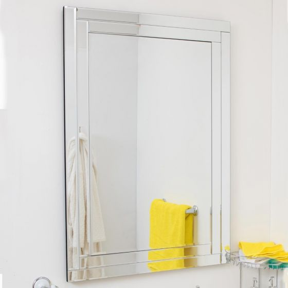 Tamar Double Glass Mirror 100x70cm