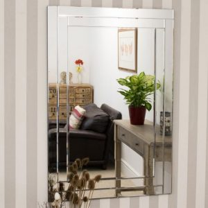Tamar Double Glass Mirror 120x80cm
