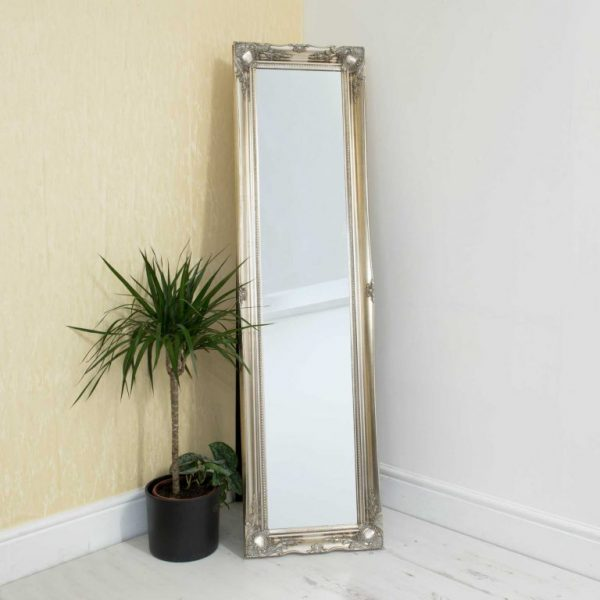 Westminster Silver Free Standing Mirror
